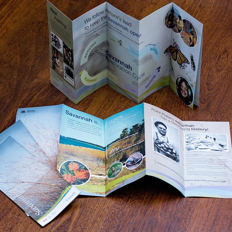 Parks Canada - Savannah Brochure