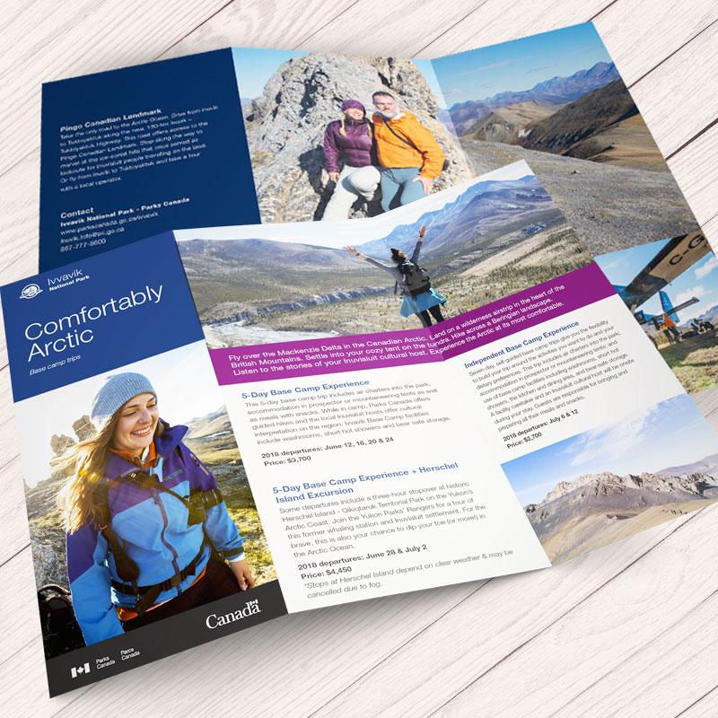 Parks Canada brochure - Ivvavik